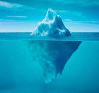 Le YIN et le YANG ou la métaphore de l' iceberg